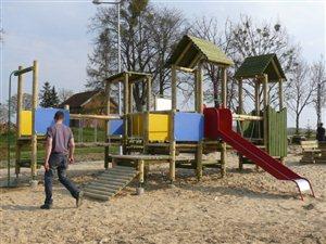 Rozbudowa bazy rekreacyjno-sportowej na obszarach wiejskich - Gmina Pasłęk