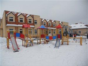 Przebudowa placu zabaw w Kąkolewie - Gmina Osieczna
