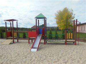 Plac zabaw w Mirowicach jako miejsce rekreacji przeznaczone do użytku publicznego - Miasto Grójec
