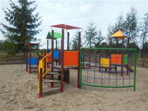 Budowa placu zabaw w SHRO Pawłowice - Gmina Tarczyn
