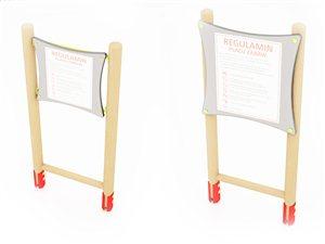 Regulamin drewniany