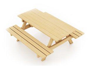 Ławostół drewniany