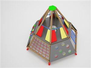 Piramida sześciokątna